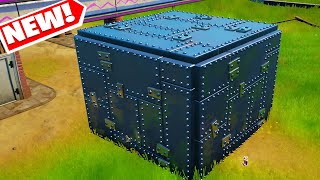 Where/How To find Arm๐red Wall in fortnite Season 8 - armored wall location in fortnite