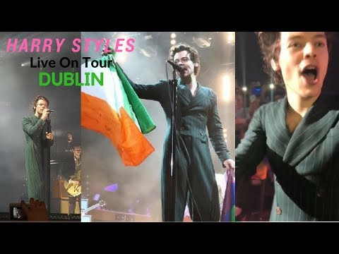 Harry Styles; Live On Tour (Dublin concert 2018)