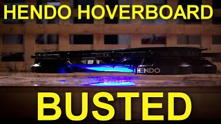 Hendo Hoverboard: BUSTED