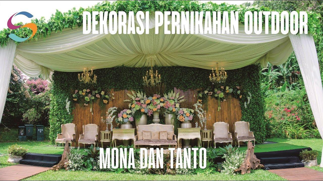 Dekorasi Pernikahan Outdoor Mewah Di Bumi Samami Salsabila