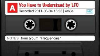 You Have to Understand by LFO