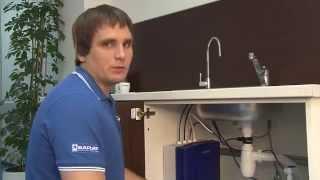 Как установить фильтр под мойку БАРЬЕР КОСМОС