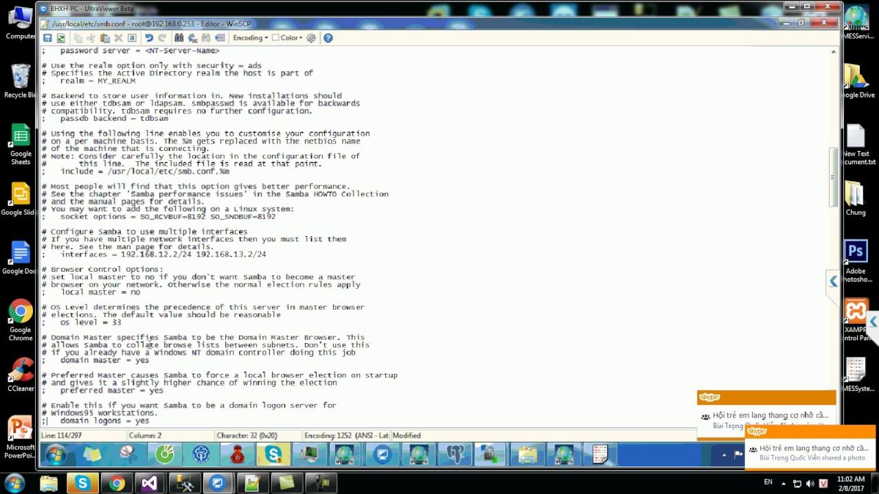 Tutorial(hướng dẫn) - Samba ver 4 Config