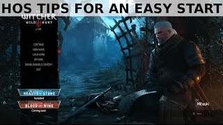 Witcher 3 Hearts of Stone - Tips for an easy start