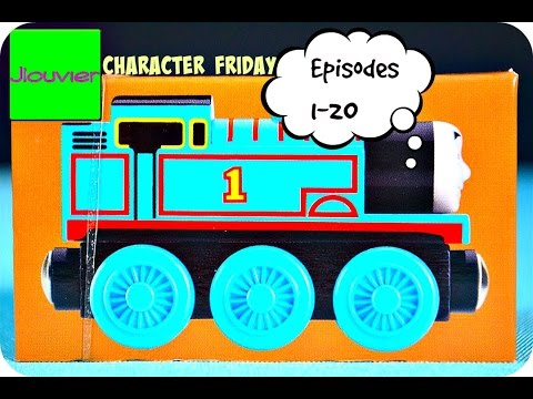 Thomas & Friends: CHARACTER FRIDAY (Episodes 1-20) Wooden Railway Train Review