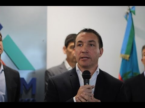 """Watson: """"A pesar de la situación difícil del país, nosotros en Florencio Varela apoyamos la industrialización"""""""