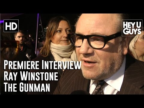 Ray Winstone Interview - The Gunman World Premiere