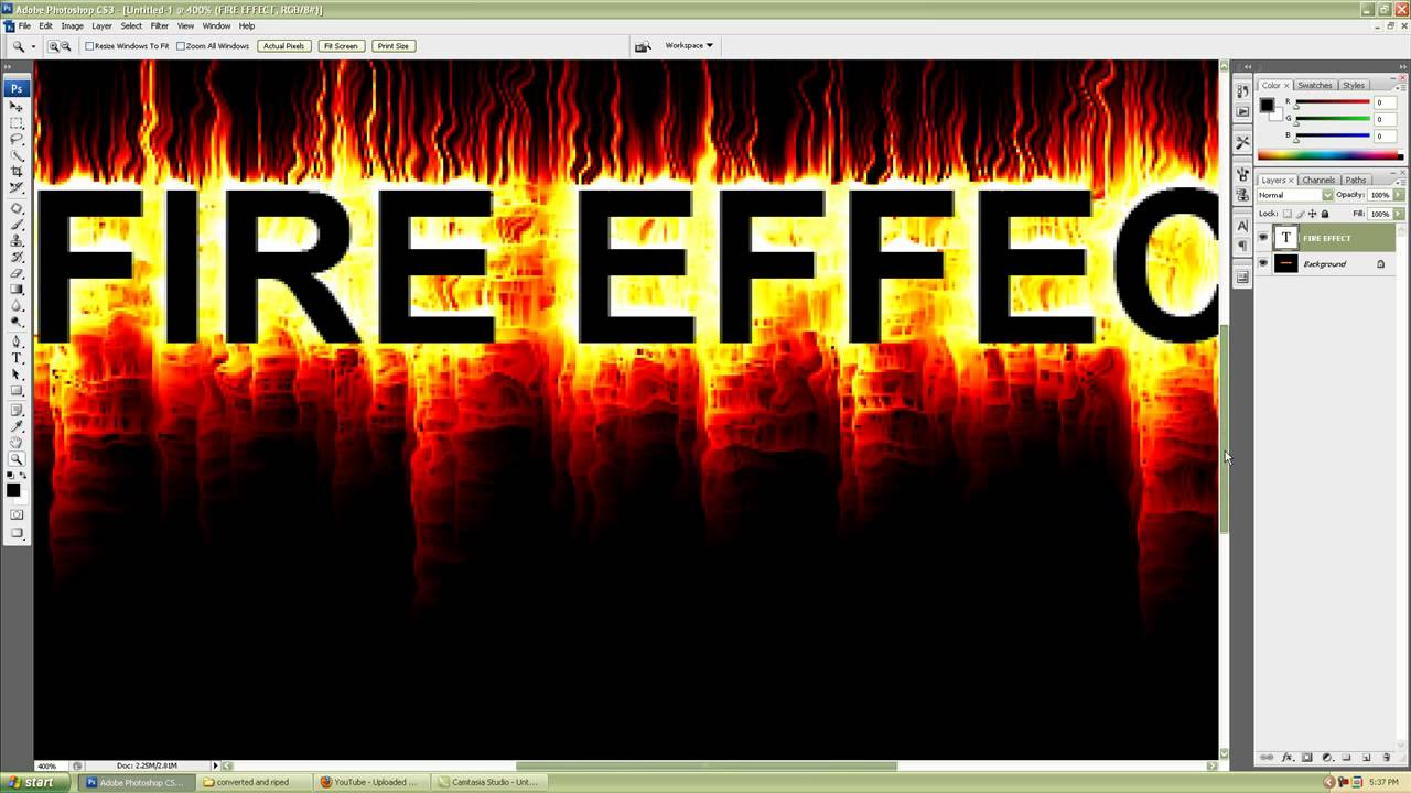 Photoshop cs3 simple and realistic fire text effect tutorial for photoshop cs3 simple and realistic fire text effect tutorial for beginners baditri Gallery