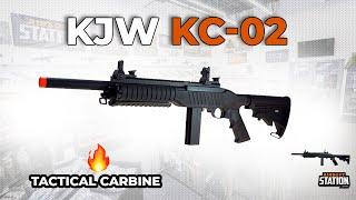 KJW KC-02 Green Gas Airsoft Rifle