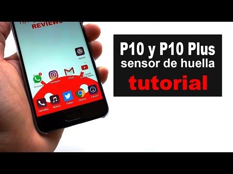 Huawei P10 y P10 Plus: configurar y utilizar el sensor de huella dactilar
