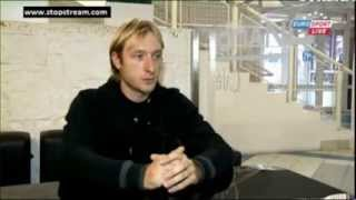 Evgeni Plushenko interview British Eurosport 19.10.2013