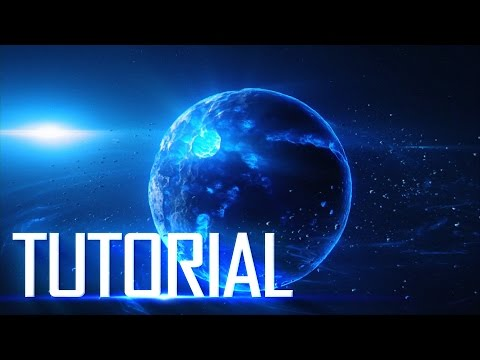 Creating an Awesome Space Scene - After Effects - Element 3D Tutorial - Fractal Rama + Locus Pack
