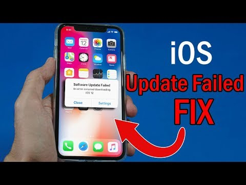FIX IPhone IOS Update Failed [SOLVED]