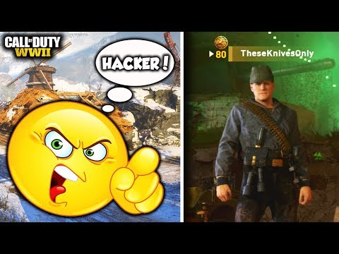 ANGRY TRASH TALKER EXPOSED ME FOR HACKING in COD WW2!