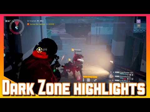 The Division | Dark Zone | PvP Highlights | The Division Gameplay