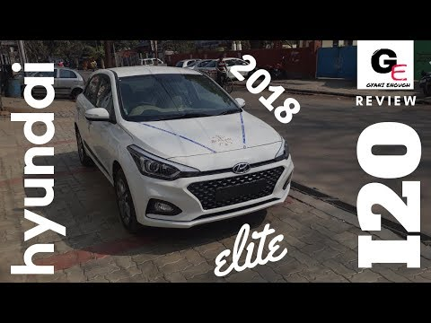 Hyundai Elite i20 facelift 2018 asta(o) top model | detailed review
