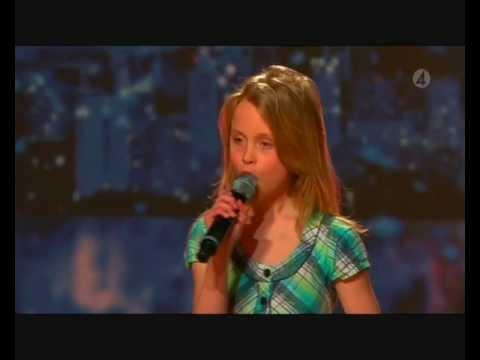 Talang 2008 - Zara Larsson 10år sjunger