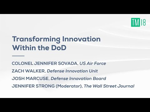Transforming Innovation within the DoD- Time Machine 2018