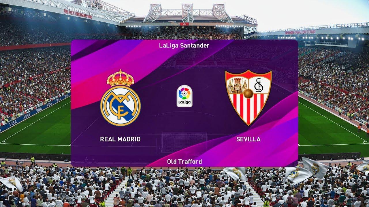 Pes 2020 Sevilla Vs Real Madrid Matchday 5 La Liga 2019 Youtube