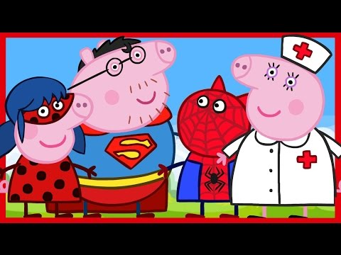 Киндер Сюрприз. Все серии. Свинка Пеппа - Супергерои, Энгри Бёрдз. Peppa Pig. Kinder Surprise.