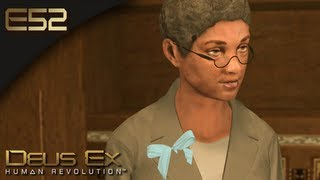Deus Ex: Human Revolution [BLIND] - E52 - Michelle Walthers...She Knows a Few Things (Gameplay)