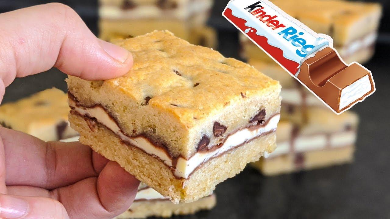 Recette Gâteau au Kinder RAPIDE / QUICK KINDER CAKE RECIPE / وصفة كعكة سريعة
