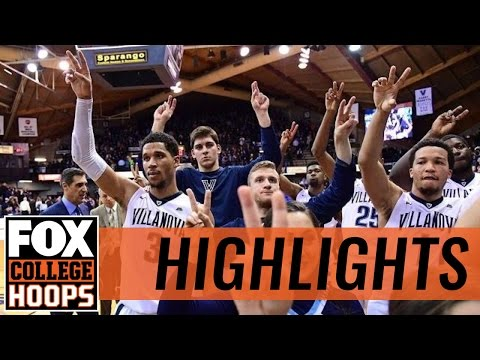 (1) Villanova hangs on, defeats DePaul 68-65 | 2016 COLLEGE BASKETBALL HIGHLIGHTS
