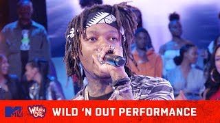 J.I.D Turns Up The Heat Performing 'Never' 🔥 | Wild' N Out