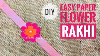 easy rakhi design | rakhi making |how to make rakhi at home | how to make rakhi for competition