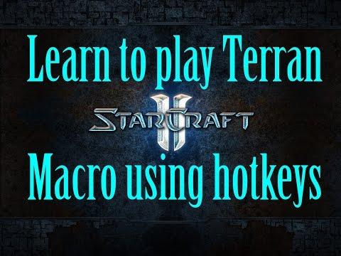 Starcraft 2 Terran Guide - Macro using hotkeys