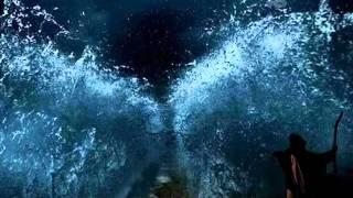 Moisés abre o Mar Vermelho; Record bate recorde de audiência.
