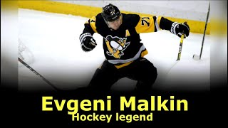 Hockey legend | Evgeni Malkin #71