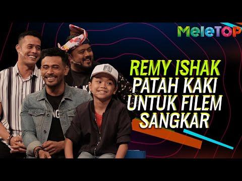 Remy Ishak patah kaki dalam persiapan filem Sangkar | MeleTOP | Nabil & Neelofa