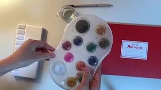 Watercolor ASMR