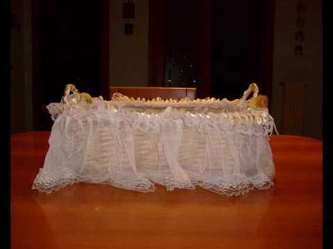 Bomboniere per nascite primi compleanni battesimi prima - Cesti porta bomboniere matrimonio ...