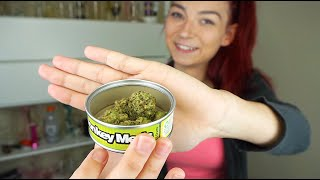 SMOKING WEED FROM A CAN!