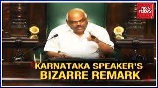 Karnataka Speaker Ramesh Kumar Compares Himself To Rape Victim