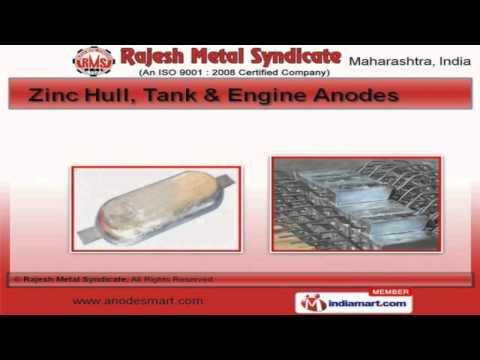 Aluminum & Zinc Anodes By Rajesh Metal Syndicate, Mumbai