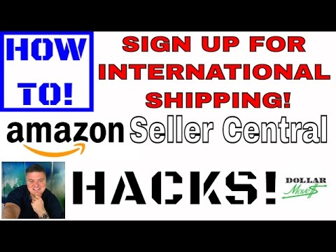 How To Sign Up For FREE International Shipping For Amazon FBA! | Amazon.com FBA Seller Central Hack!
