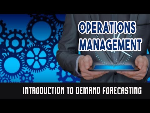 Introduction To Demand Forecasting.