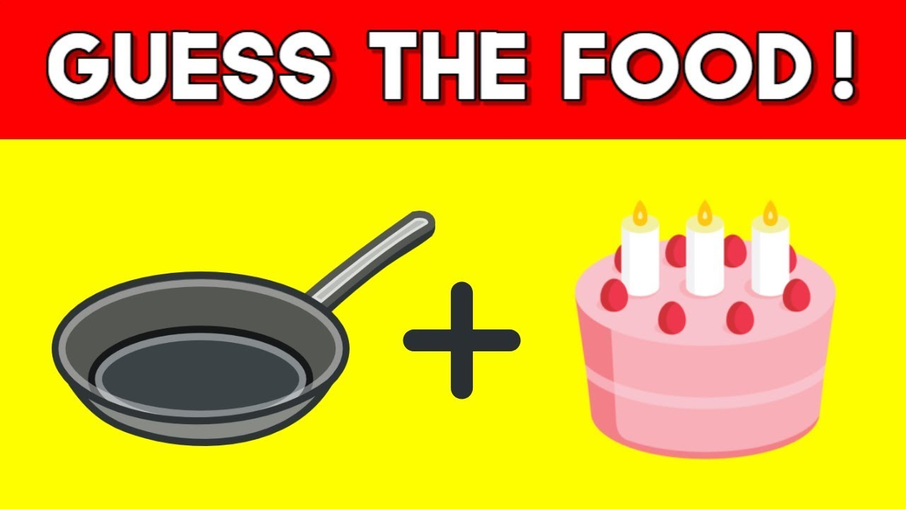 Can You Guess The Food By The Emoji?   Emoji Challenge ...