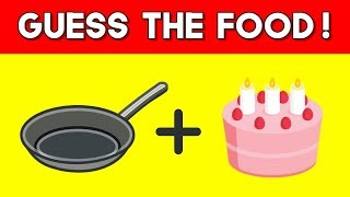 Can You Guess The Food By The Emoji? | Emoji Challenge | Emoji Puzzles!