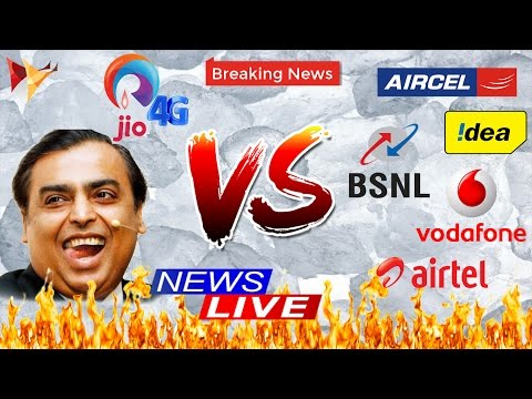 Reliance Jio VS Other Telecoms |  Effects of Happy New Year Offer on Other Telecom Service Providers