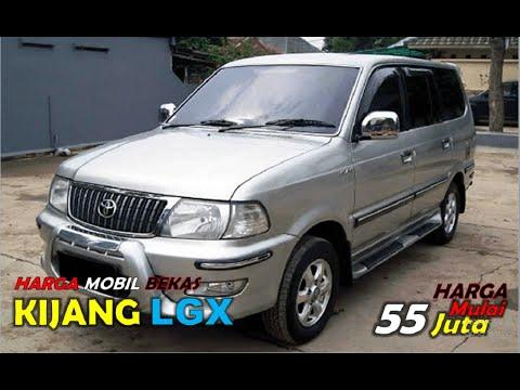 Harga Mobil Bekas Toyota Kijang Lgx Tahun 2001 2004 Sekarang Segini Harganya Youtube
