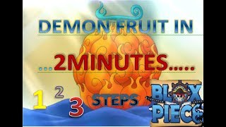 """ROBLOX""BLOX PIECE, SUPER EASY FINDING DEMON FRUIT(100%)LEGIT NO CLICKBAIT"