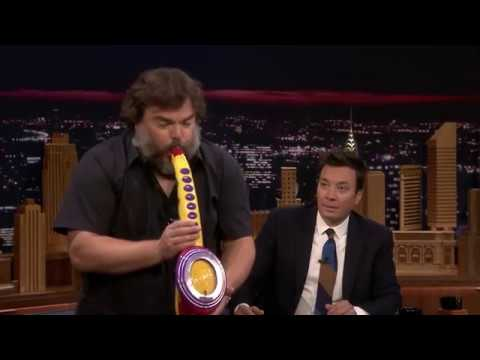 Jack Black Performs His Legendary Saxy A Boom meme