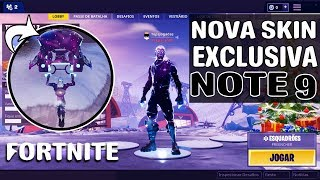 Fortnite: NEW EXCLUSIVE SKIN NOTE 9