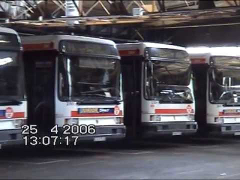 Francie, Lyon, Autobusové Garáže TCL, 2006