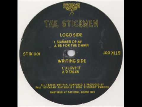 The Stickmen - B2. D Talks, Stickman Records 1993