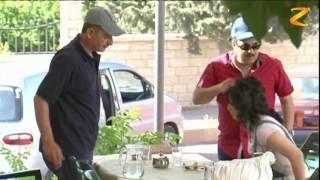 الفنان جمال العلي يشاهد تدمير سيارته ويفقد صوابه !!!